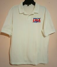 1993 WORLD POLICE AND FIRE GAMES POLO SHIRT COLORADO SPRINGS USA 93 SIZE L VGC