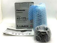 Panasonic Lumix G X Vario PZ 45-175mm f/4.0-5.6 ASPH. Lens (Black) - Open Box