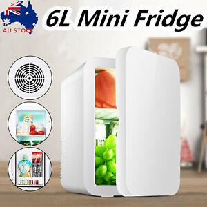 Protable Car Home Mini Refrigerator Dual Use Travel Car Fridge Freezer Heater 8L