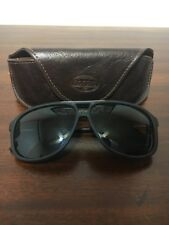 Fossil Sunglasses  And Brown Faux Leather Case