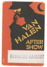 RARE Van Halen Orange Patricks Haircut Unused 1984 Backstage Pass!