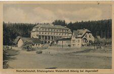 Nr.23106  PK Waldschloss Mösnig  bei Jägerndorf Schlesien  Tschechien