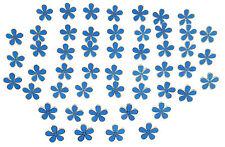 MASONIC SET OF 50 FLOWER FORGET ME NOT 15MM ENAMEL LAPEL PIN BADGES