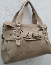 -AUTHENTIQUE grand sac à main  ABACO  cuir TBEG vintage bag A4