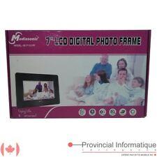 """7"""" 7in LCD Digital Photo Frame Mediasonic VE-7101PF"""