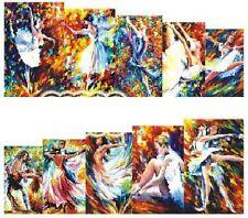 NAIL Art Decalcomanie Transfers Adesivi Acquerello strettamente che balla (A-1014)