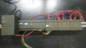 Siemens Simatic S7 200 Cpu 214 + modulo EM223 +  2 moduli EM222 + power 24v