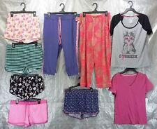Wholesale Lot 100 Assorted Sleep Tops Bottoms Pajamas Sleepwear Womens S-L Sizes