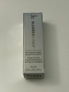 IT COSMETICS Blurred Lines Smooth-Fill Lipstick( 3.4g ) - Perfect Nude - NIB
