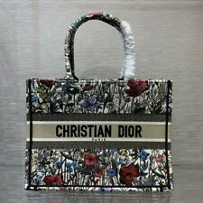 Dior Book Tote Multicolor Mille Fleurs Embroidery