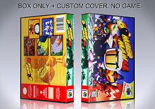 BOMBERMAN 64. NTSC VERSION. Box/Case. Nintendo 64. BOX + COVER. (NO GAME).