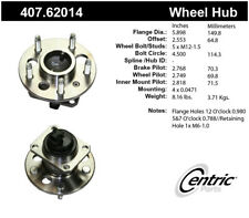 Wheel Bearing and Hub Assembly-Premium Hubs Rear Centric 407.62014