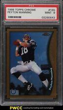1998 Topps Chrome Peyton Manning ROOKIE RC #165 PSA 9 MINT