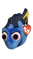"Ty Disney Sparkle Finding Dory Blue Fish 9.5"" Medium Beanbag Plush 2017 MWMT"