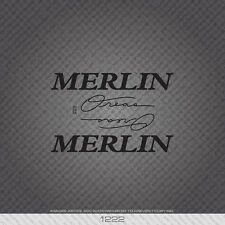 01222 Merlin Oreas Bicycle Stickers - Decals - Transfers - Black