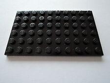Lego 2 x Platte 3033 schwarz 6x10 N.
