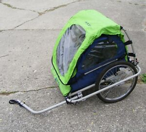 Vintage InStep 2-toddler bicycle trailer, ready to roll