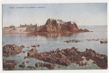 Jersey, Elizabeth Castle Postcard, B353