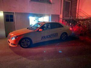 Autoaufkleber  Fake Taxi Xxl   2 Stück