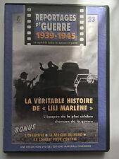 REPORTAGES DE GUERRE 1939 -1945 .. N°23 .. LA VERITABLE HISTOIRE DE LILI MARLENE