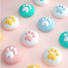 x2 Paw Thumb Grips Analog Caps for Nintendo Switch Lite Joy-Con Cute Animal Paw