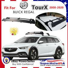 Fits Buick Regal TourX 2008-2020 Rooftop CrossBar Wind Fairing Air Deflector Kit