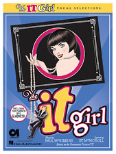 """THE IT GIRL"" PIANO/VOCAL SELECTIONS MUSIC BOOK-BRAND NEW ON SALE-MUSICAL PLAY!!"