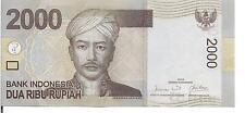 INDONESIA, 2,000 RUPIAH, 2009, UNC