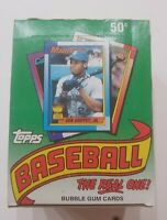 1990 Topps Baseball Factory Unopened Wax Packs 36 ct. Box Frank Thomas RC