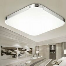 Lampada da Soffitto 48 LED plafoniera Quadrata lampadario luce calda 24 W