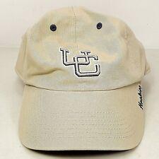 UConn Connecticut Huskies Mens Lids Beige 100% Cotton Hat Baseball Cap Sz Large