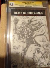ULTIMATE SPIDER-MAN 160 CGC 9.8 SS  SKETCH Of Magneto Defeats Spidey And Ximena