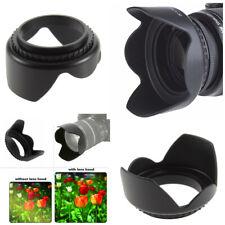 55mm Camera Lens Hood For Nikon D3400 D3500 D5600 D7500 w/ AF-P DX 18-55mm lens