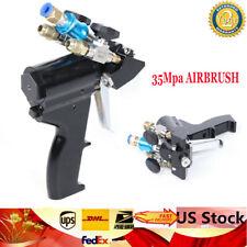 Polyurethane PU Foam Spray Gun P2 Air Purge Spray Gun Gas auxiliary spring US