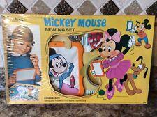 Vintage Hasbro Walt Disney's Mickey Mouse Sewing Kit~Still in Cellophane