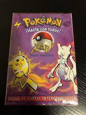 SPANISH Sealed ZAP! Base Starter Set Theme Deck - Pokémon TCG 1999