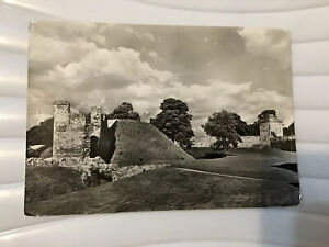 Vintage Postcard, Pickering Castle, Yorkshire. Keep And Diate Hill Tower From W