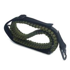Camping Hunting Slings Adjustable Paracord Gun Rifle Sling Strap Swivels New