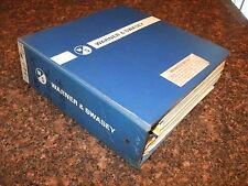 Warner Amp Swasey Gradall G 660 Truck Excavator Operator Service Manual