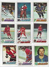 1977-78 Topps Hockey you pick 8 picks $2.00 EX to Mint