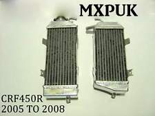 CRF450 RADIATORS  2005 2006 2007 2008 PERFORMANCE  Radiators CRF 450 (017)