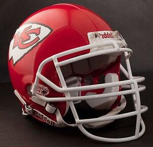 TONY GONZALEZ Edition KANSAS CITY CHIEFS Riddell AUTHENTIC Football Helmet NFL