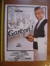 Petite affiche cinema GARCON Montand Garcia Villeret Sautet MOVIE