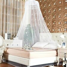Mosquito Net Canopy Bed Netting Lace Curtain Princess Mesh Dome Bedding Net Us