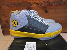 2011 Nike Air Jordan CP3.IV T23 Tour Yellow Grey size 7.5