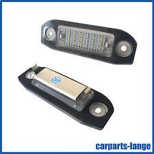 LED SMD SET VOLVO Kennzeichenbeleuchtung Kennzeichen Leuchte mit E-Prüfzeichen