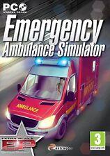 Emergency Ambulance Simulator (PC CD) NEW & Sealed