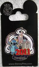 Sleeping Beauty Castle 2011 - Stitch Disney Pin New
