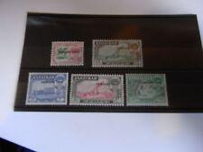 1962 ZANZIBAR  SG395/396/397/399/400  UN MOUNTED MINT