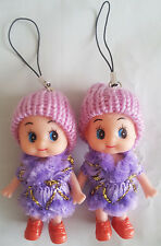 Ddung Doll Cell Phone Backpack Keychain Gift Christmas Decoration Depandent New
